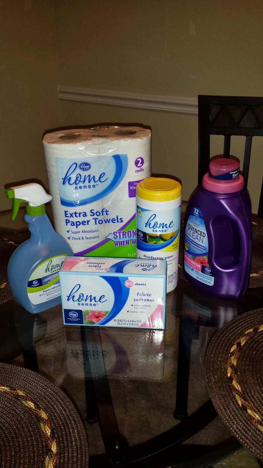 Kroger's Home Sense Household Products