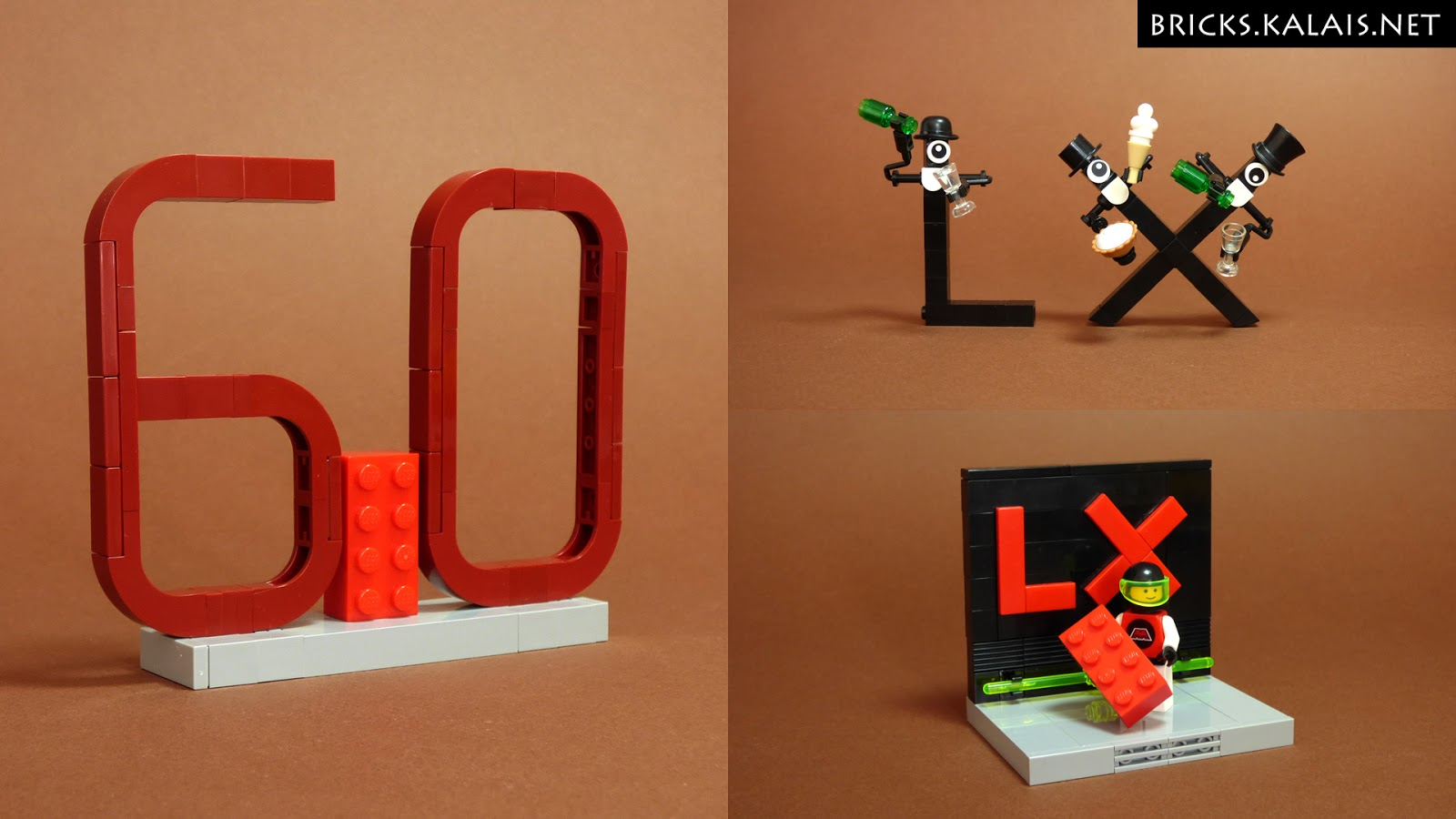 [MOC] 60 klocków na 60-lecie klocka LEGO