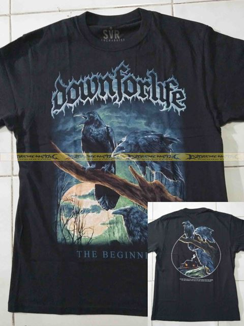 T-Shirt DOWNFORLIFE - The Beginning