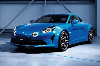 Alpine A110 (2018) Front Side