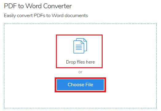 how to convert pdf file to word online free
