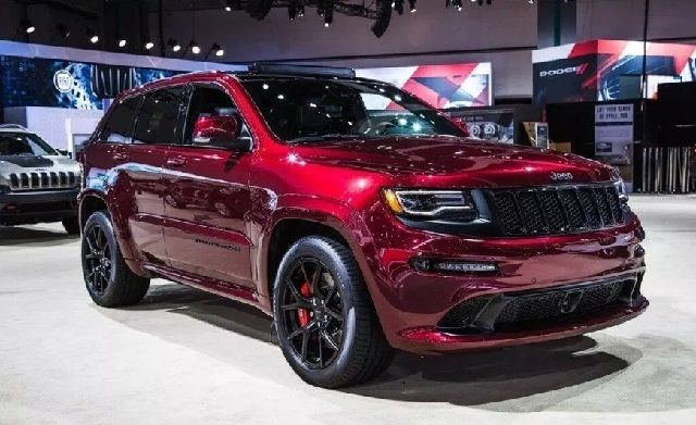 2019 Jeep Grand Cherokee SRT8 Redesign