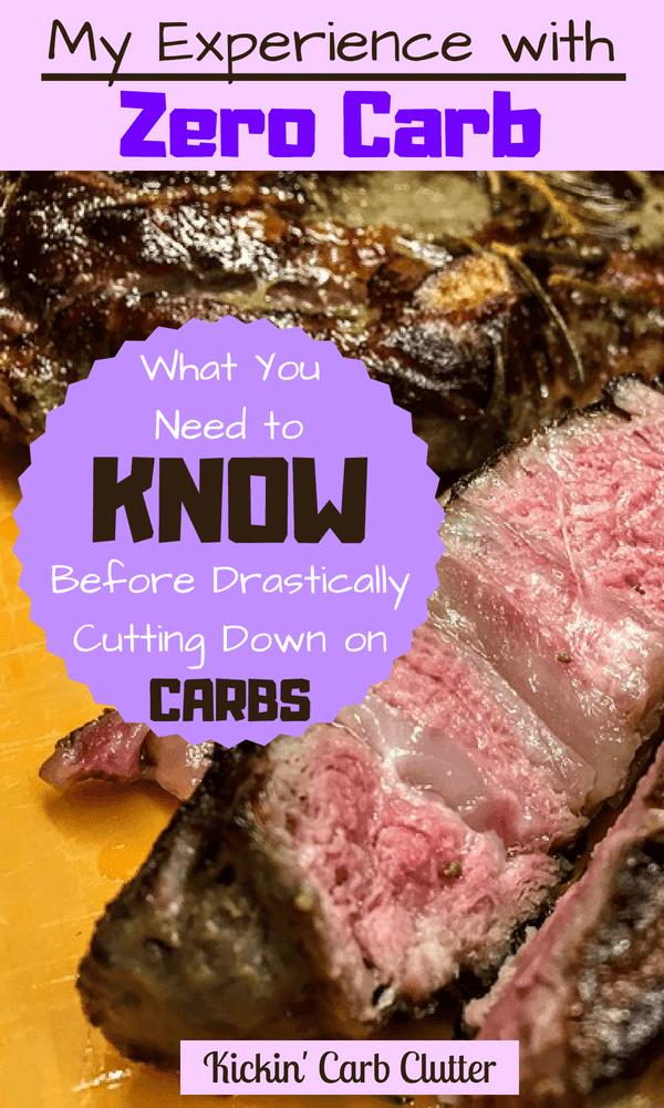 Pinterest Image: Juicy Grilled Steak, Cut Open, Rare