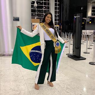 Miss Universo Mayara Dias