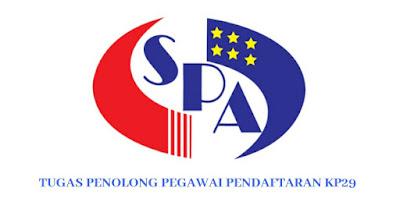 Gaji, Kelayakan & Tugas Penolong Pegawai Pendaftaran KP29