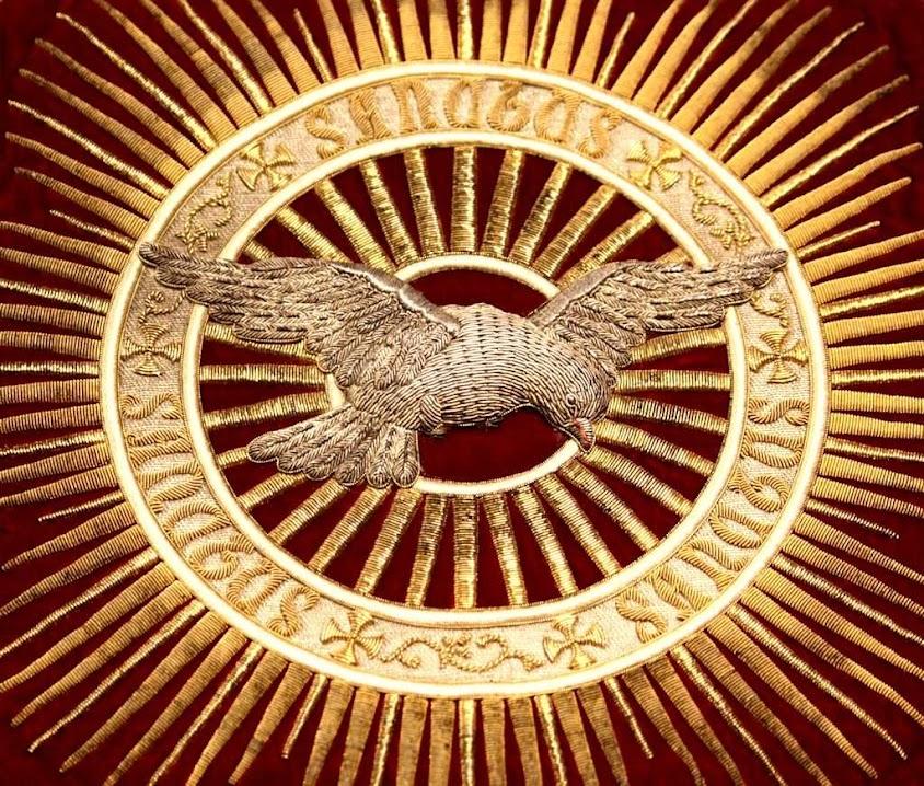 Espírito Santo, bordado das dominicanas de Stone, Staffordshire