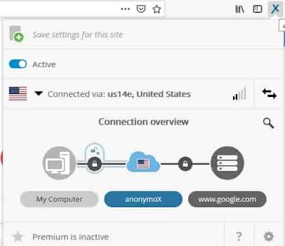 membuka internet positif menggunakan anonymox