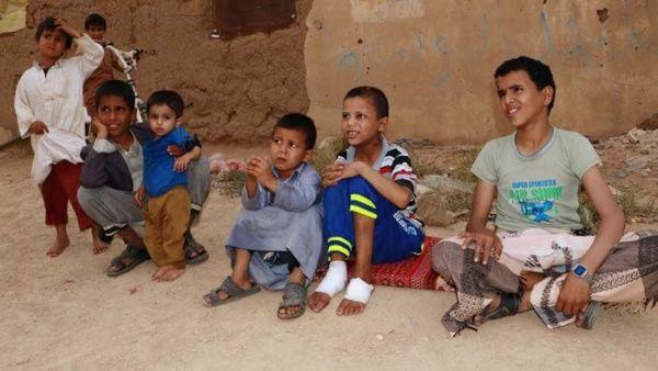 5 millones de niños amenazados de hambruna por guerra en Yemen