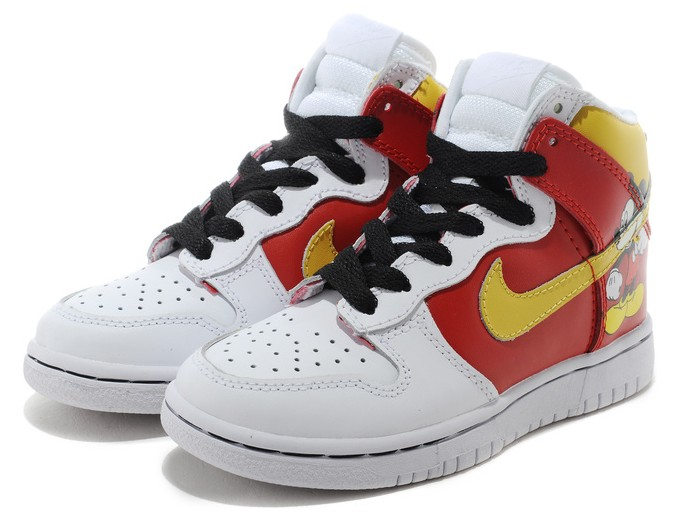 Well-liked Mickey Mouse Nike Dunks/Nike Dunk High Disney Mickey Mouse For Men  ZF09