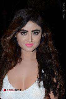 Telugu Actress Model Sony Charishta Pos in White Long Dress at Nanna Nenu Na Boyfriends Audio Launch  0103.JPG