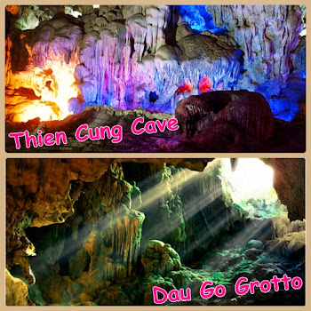 Amazing of Thien Cung Cave and Dau Go Grotto