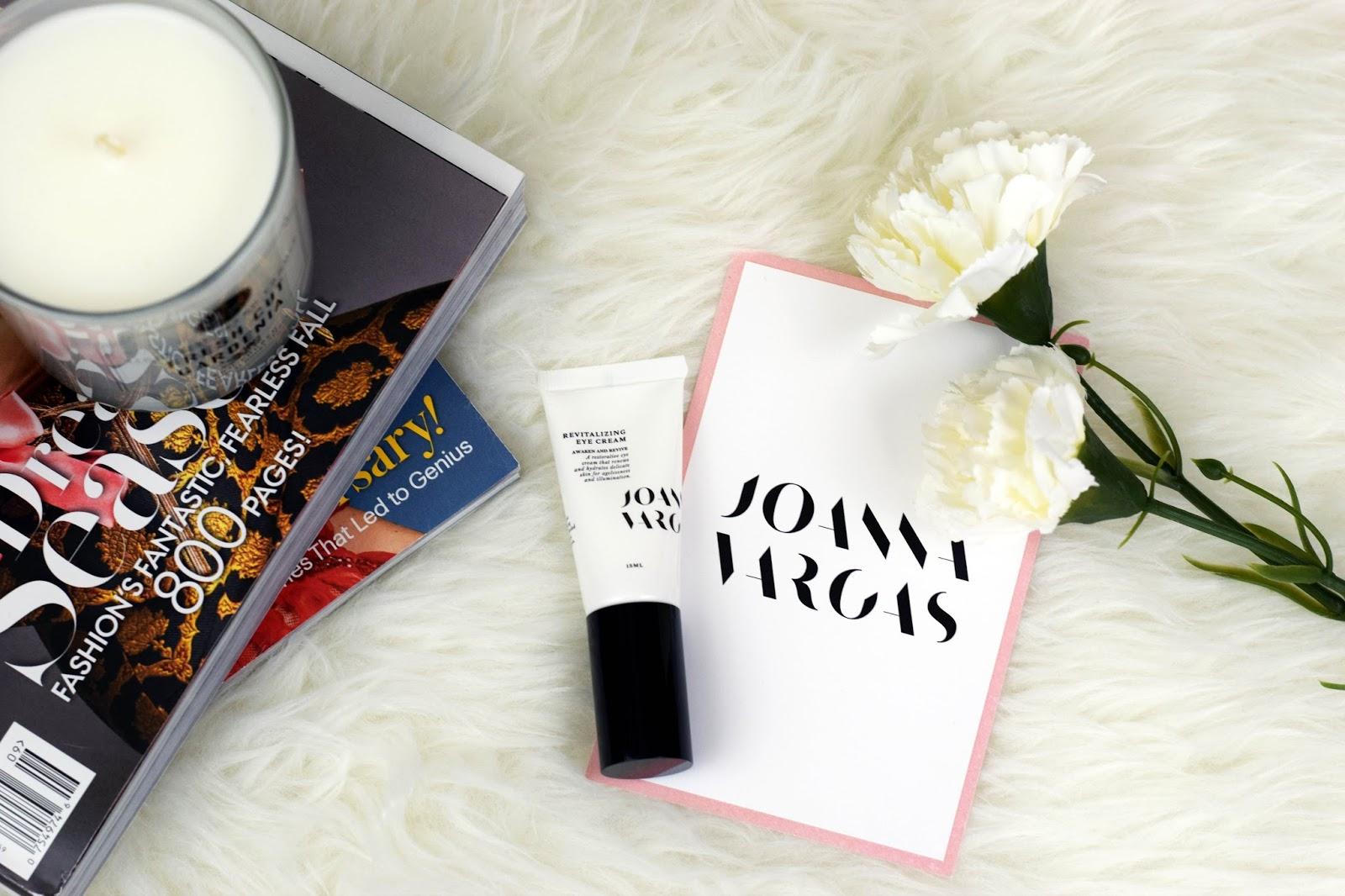 Joanna Vargas eye cream review