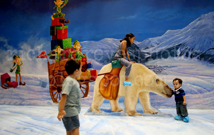 Island Christmas Theme.Richard A Reyes Photographer Christmas 3d Art