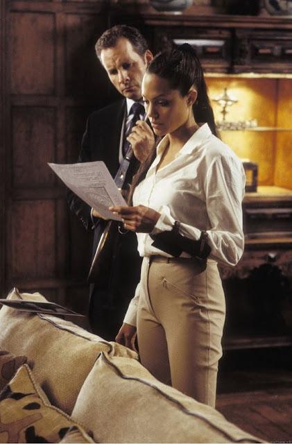 Figurino Tomb Raider filme , Lara croft vestido (Angelina Jolie)