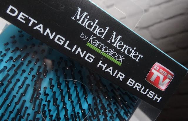Michel Mercier -  wersja klasyczna, szczotka niebieska do włosów grubych