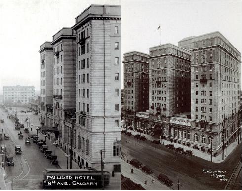 Palliser Hotel Calgary Archival