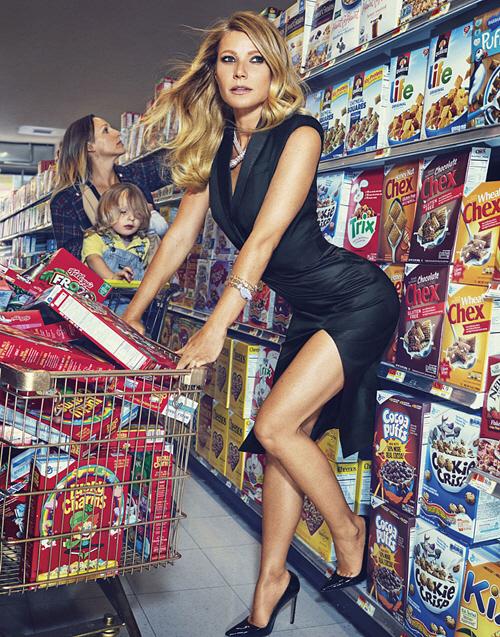 Gwyneth Paltrow, Harper's Bazaar 4