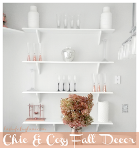 Discover 6 fabulous ways to create a chic and cozy ambiance in your home for fall.