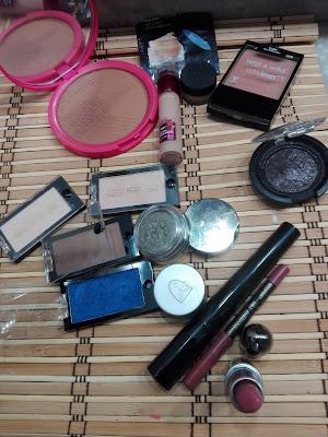 Imagen Productos Look azul y marrón