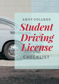 Driving License Checklist