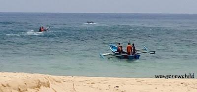 kampung nelayan di pantai pasir panjang ngliyep malang
