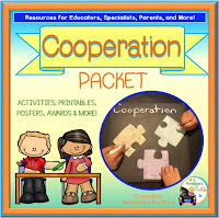 Cooperation Character Education - Social Skills Teaching Packet
