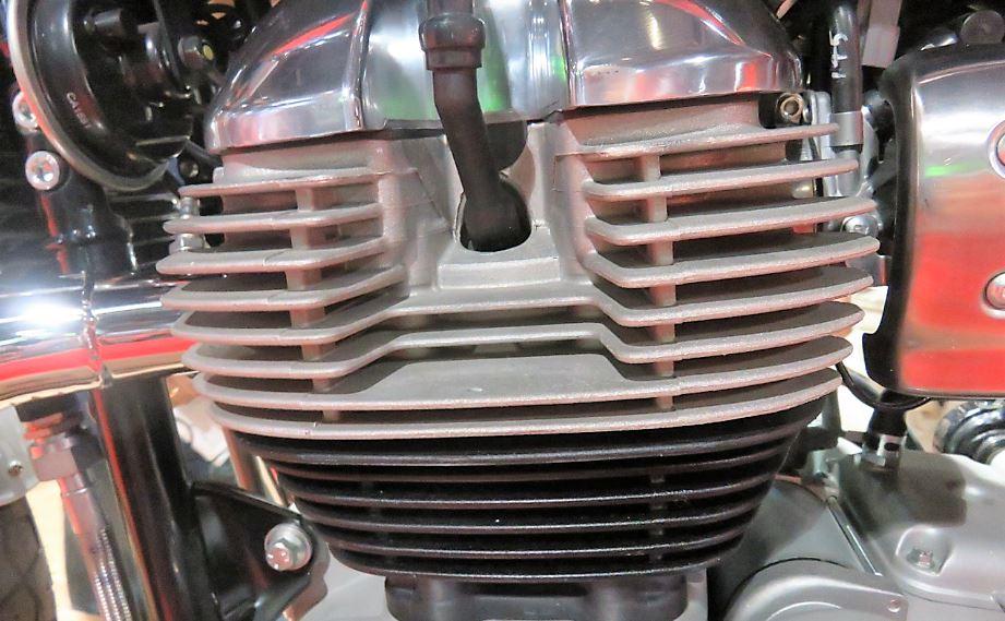 Close-up photo of motor.