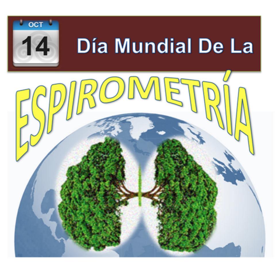 Compartiendo Mi Opinion Hoy 14 De Octubre Se Conmemora El Dia Mundial De La Espirometria