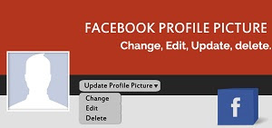 How To Change, Edit, Update & Delete Facebook Profile Pictures