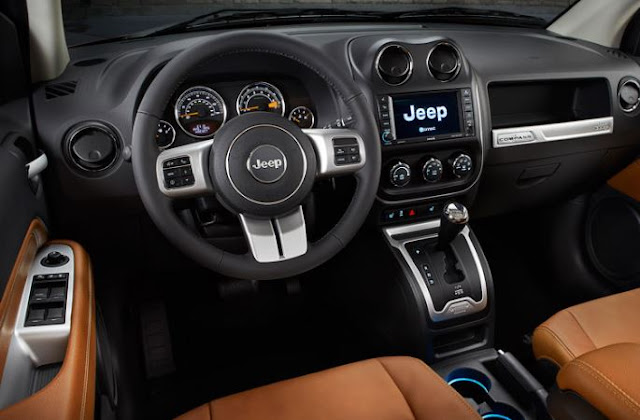 2017 Jeep Compass Quick Spin Interior