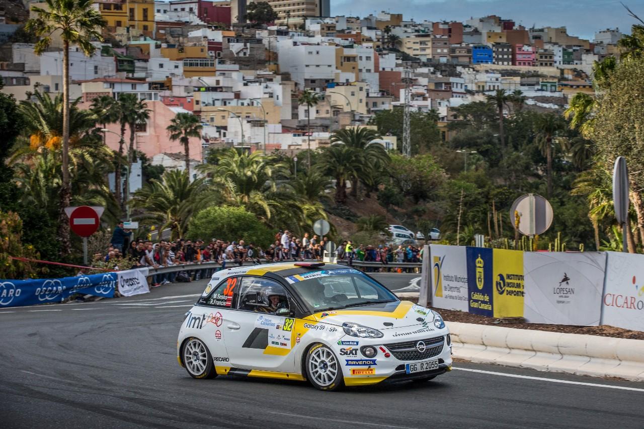 2η θέση για την ομάδα ADAC Opel Rallye Junior στο Gran Canaria