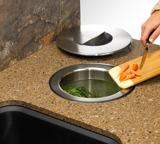 Compost Bin For Kitchen Sinks Stainless Steel Enzy Living: And Design