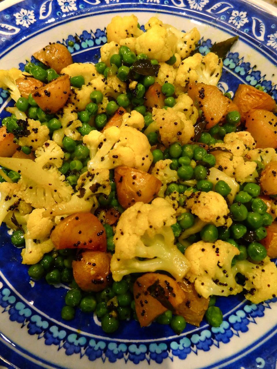 Scrumpdillyicious: Aloo Gobi with Cauliflower, New ...