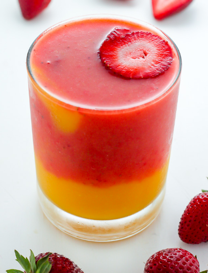 Strawberry Mango Smoothie #strawberry #drink