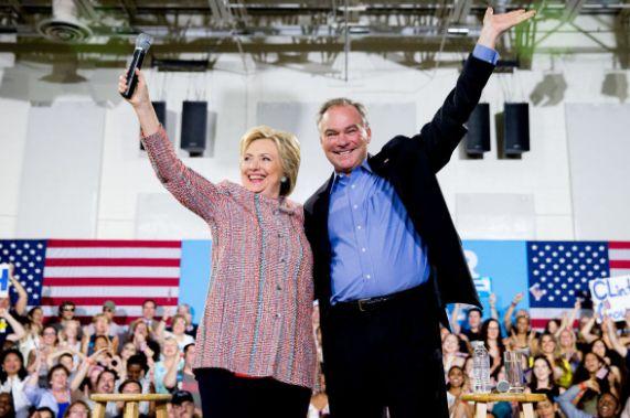 PHOTOS: Meet Hillary Clinton's Running Mate…he's a Senator