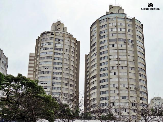Vista ampla do Condomínio Morada Das Torres Do Sol - Jardim Europa - São Paulo