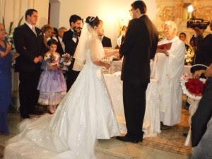 Casamento com audiodescrição