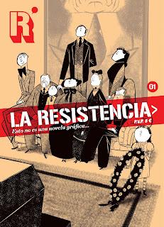 LA RESISTENCIA  Comic Europeo