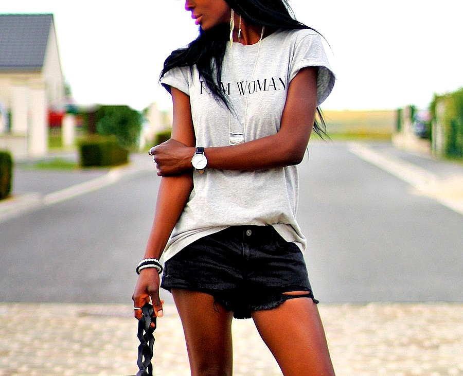 look-tendance-short-jeans-blog-mode