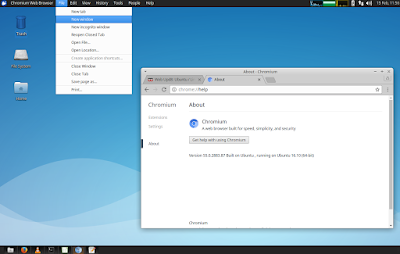 Global Menu Xubuntu Xfce Vala Panel AppMenu