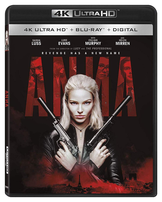 DVD & Blu-ray: ANNA (2019) Starring Sasha Luss   The ...