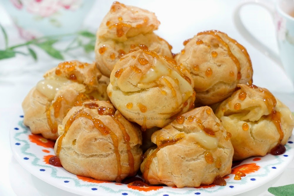 Soes Vla Durian Sashy Little Kitchen Home Cooking And