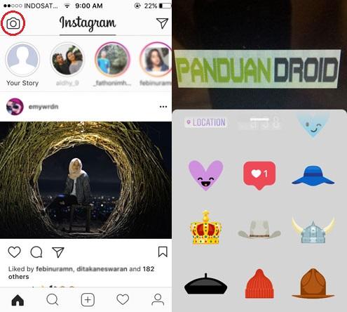 perbedaan insta story dengan snapchat