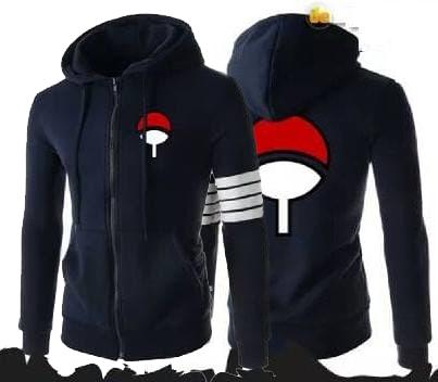 Sweater Anime Naruto Uchiha Sasuke (SW002) Free Ongkir