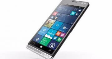 HP تطلق هاتفاً بنظام ويندوز 10 ومواصفات متوسطة