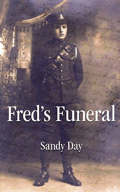 freds-funeral, sandy-day, book