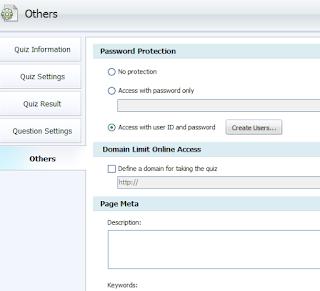 tentu saja membutuhkan User ID dan password digunakan untuk login mengakses halaman yang  Cara Membuat User ID dan Password Untuk Soal Online