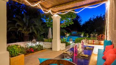 Noches de verano y farolillos en el jardín