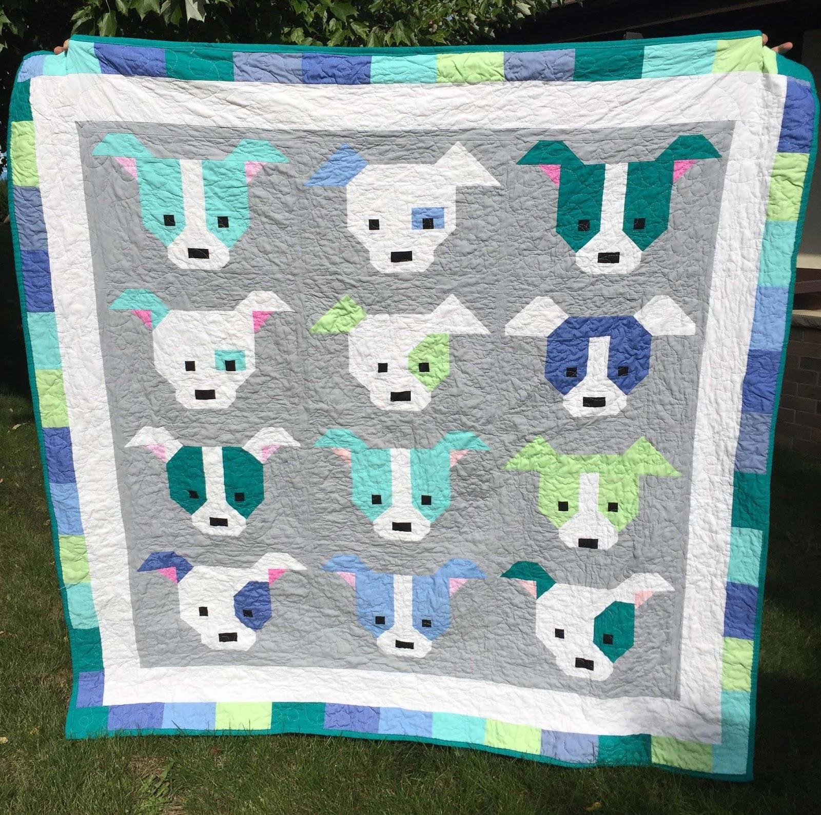 Sew Fresh Quilts: Dog Gone Cute Blog Hop Schedule : gone quilting - Adamdwight.com