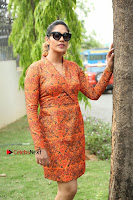 Actress Mumtaz Sorcar Stills in Short Dress at Guru Movie Success meet  0236.JPG